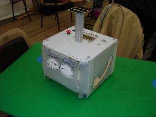 Robot CupBot (coupe de robotique 2006)